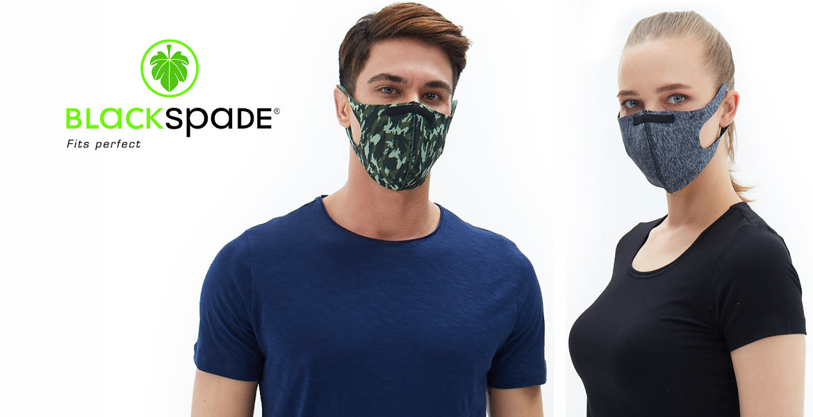 Blackspade Face Masks