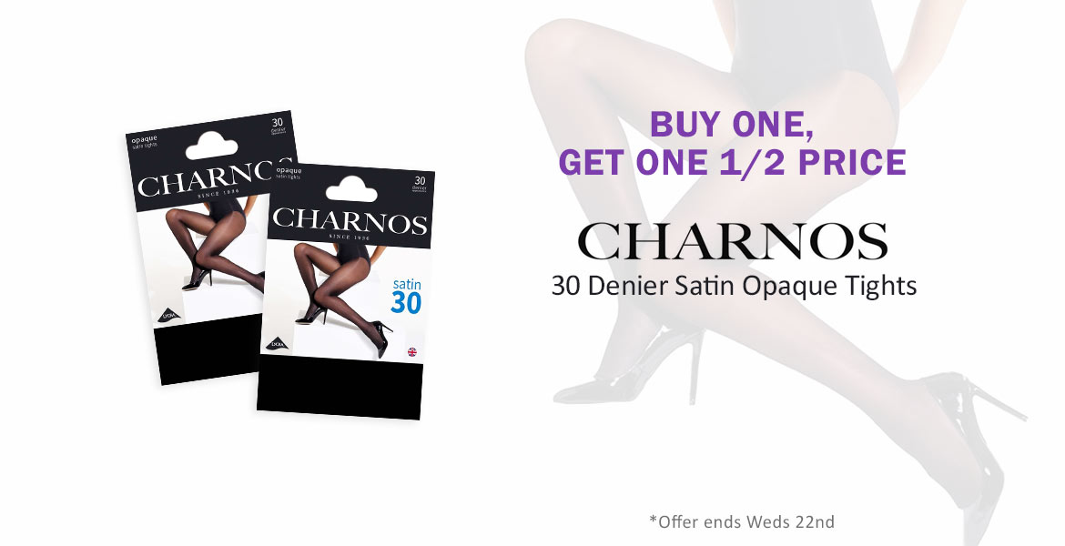 Charnos 30d Satin Tights Offer