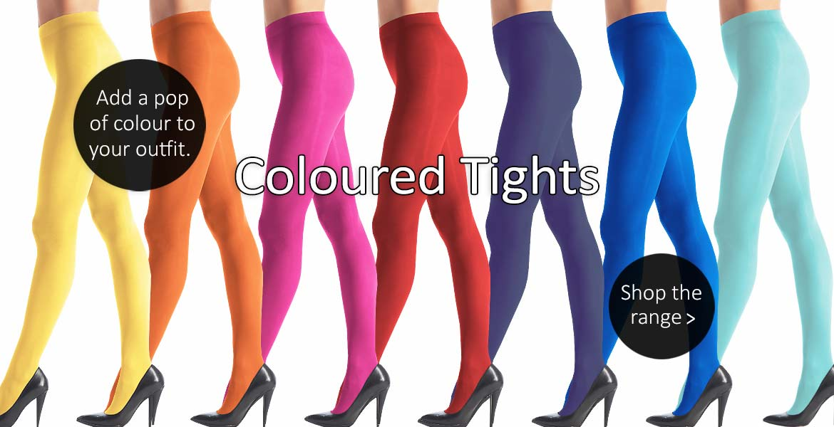 Shop Coloured Tights