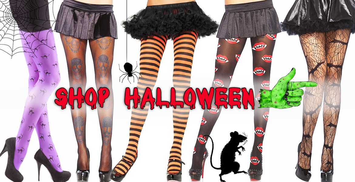Halloween Witch's Tights