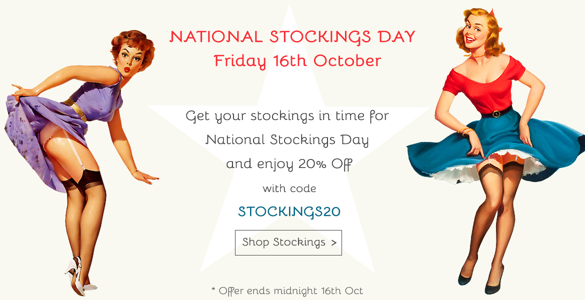 National Stockings Day Banner