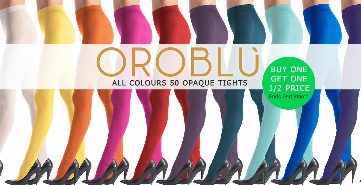 Oroblu All Colours 50 Tights offer