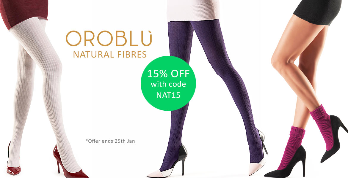 Oroblu Natural Fibres Offer