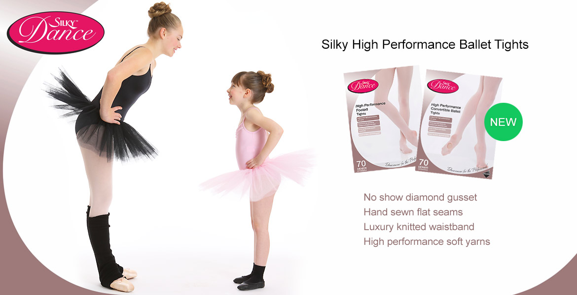 New Silky High Performance Ballet Tights
