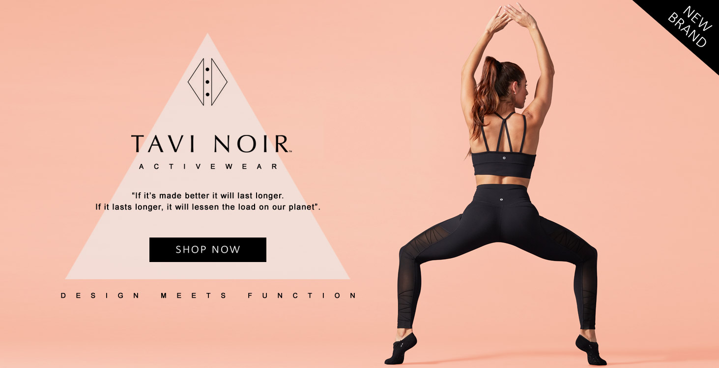 New Tavi Noir Activewear
