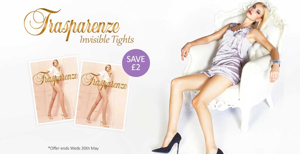 Trasparenze Invisible Tights Offer