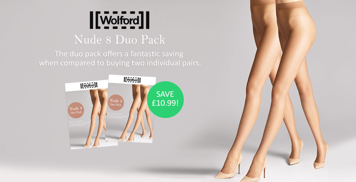 Wolford Nude 8 Duo Pack Offer