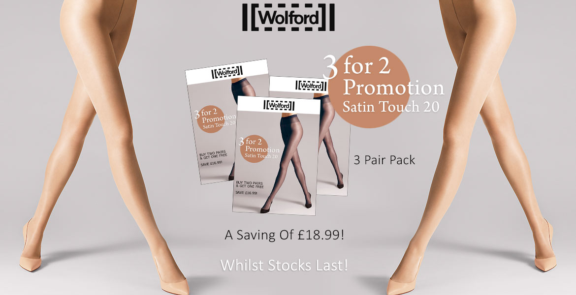 Wolford Satin Touch 3 For 2 Promo