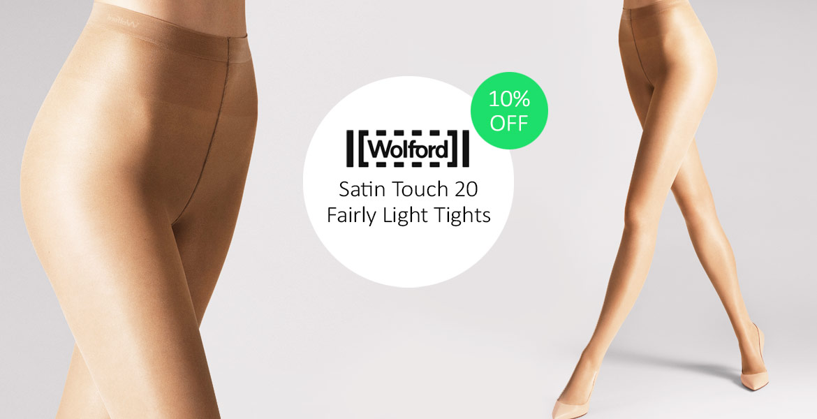 Wolford Satin Touch 20 Fairly Light Tights Offer