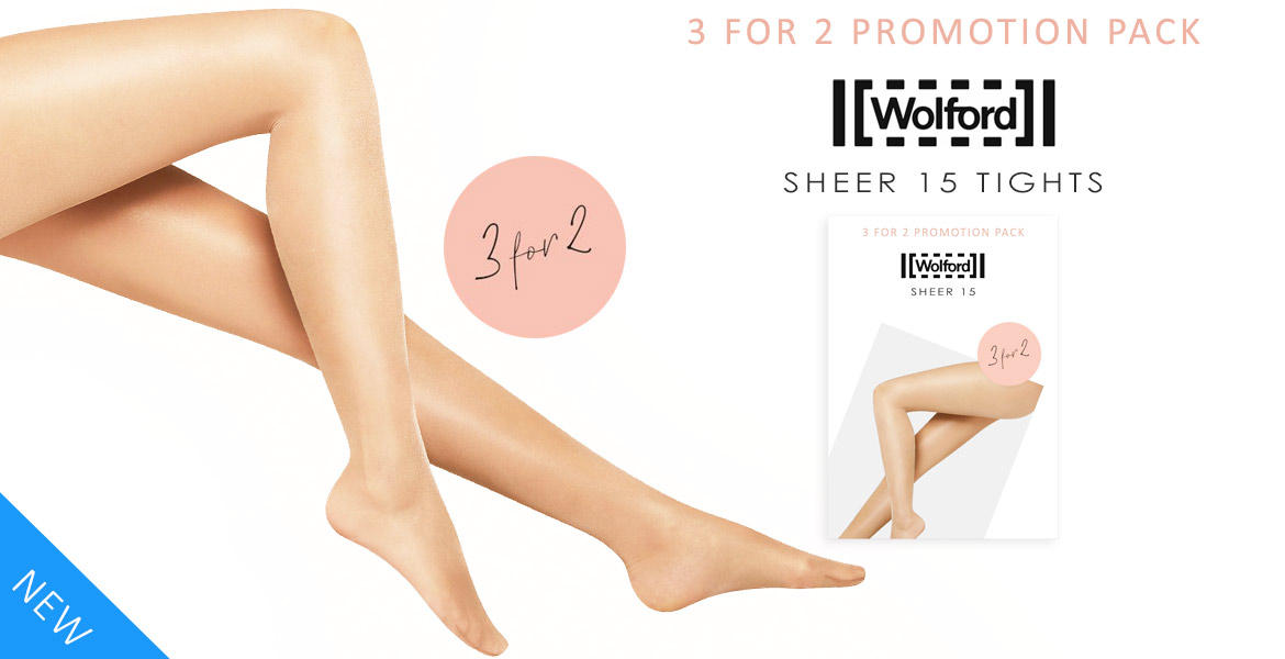 Wolford Sheer 15 3 For 2 Promotion