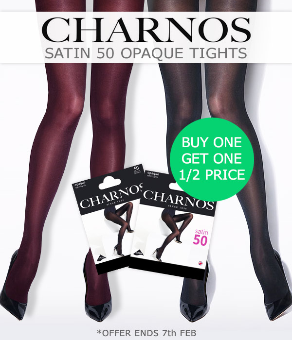 e2cc054ac54 UK Tights  Buy 1 Get 1 Half Price Charnos Satin 50   Giulia Nice Cotton  Tights Discount