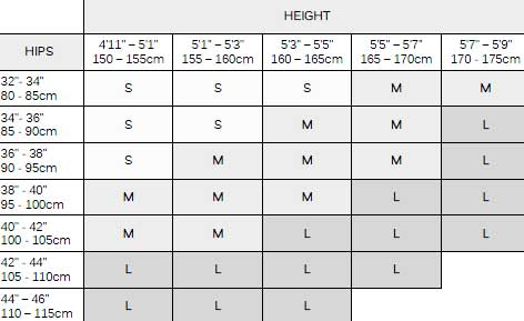 {products.name} Size Guide