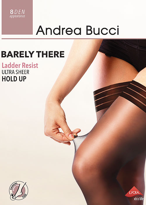 Andrea Bucci Barely There Ladder Resist Ultra Sheer Hold Ups