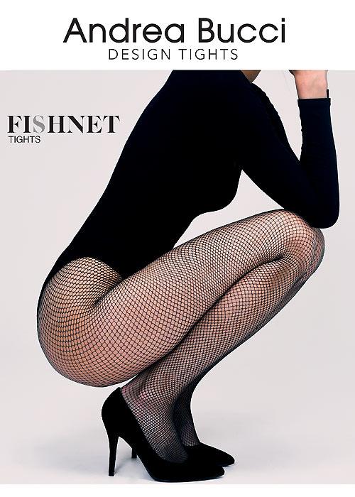 Andrea Bucci Fishnet Tights