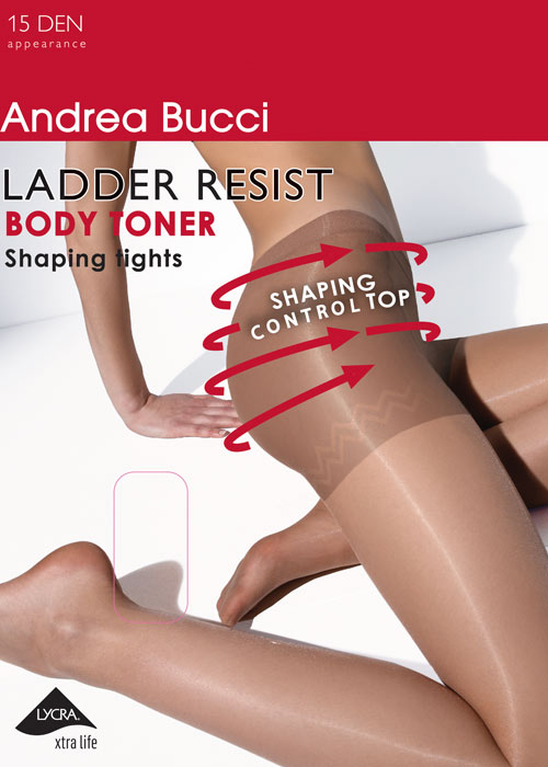 Andrea Bucci 15d Ladder Resist Bodytoner Tights