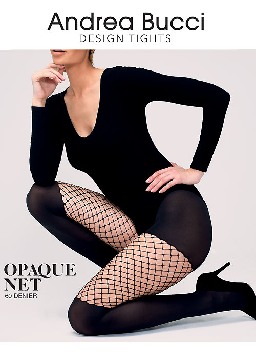 Andrea Bucci Opaque Net Tights