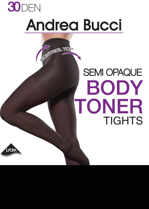 Andrea Bucci Semi Opaque 30 Denier Body Toner Tights