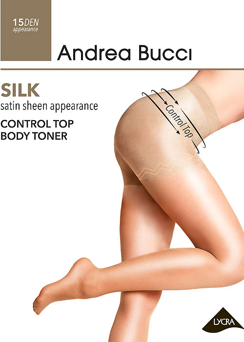 Andrea Bucci Silk Control Top Body Toner Tights