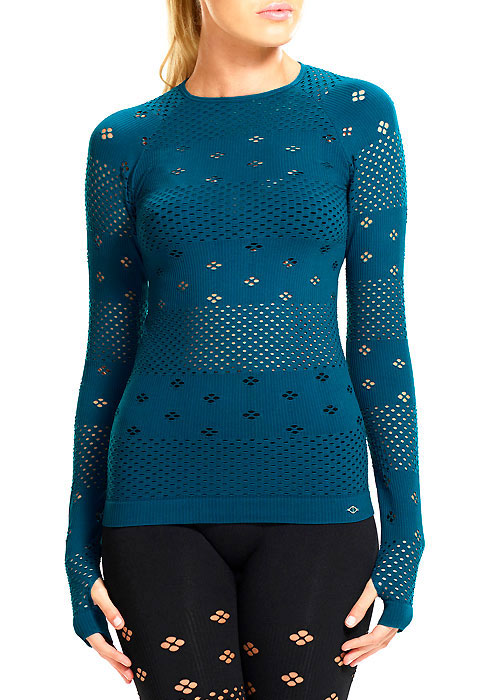 Ambra Active Plank Long Sleeve Crew Top