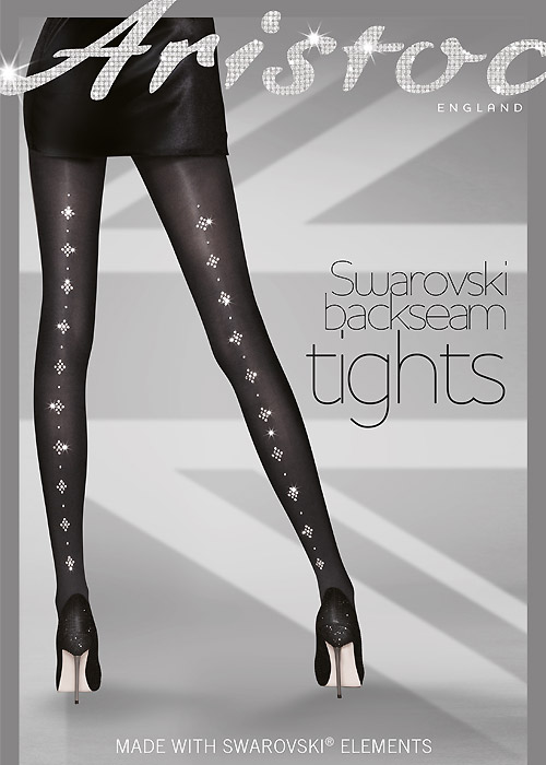 Aristoc Swarovski Backseam Tights