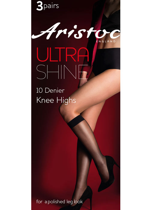 Aristoc Ultra Shine Knee Highs 3PP