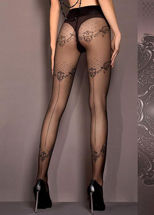 Ballerina Valkyrie Fashion Tights Black
