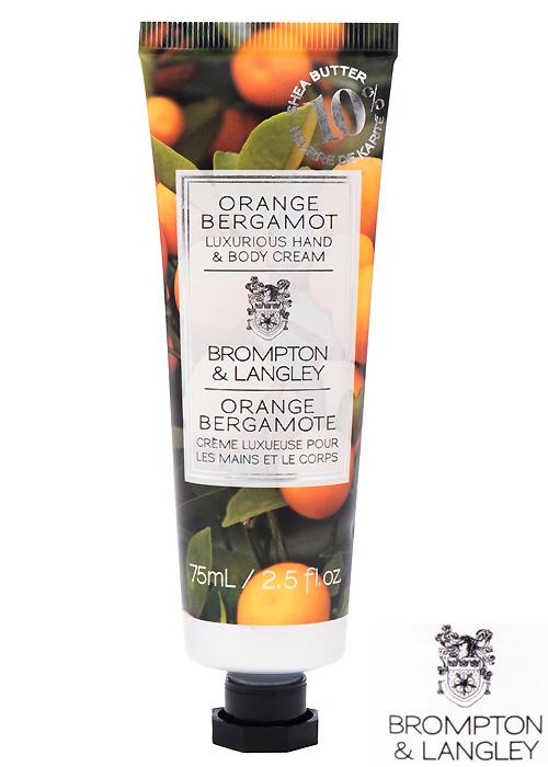 Brompton and Langley Orange Bergamot Handcream
