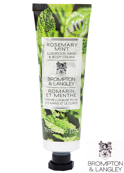 Brompton and Langley Rosemary Mint Handcream