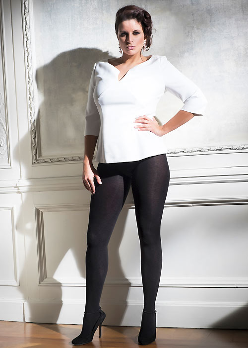 Cette Sochi 120 Denier Plus Size Cotton Tights