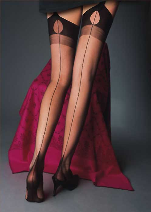 Stockings Cervin Tentation Fully Fashioned Seamed Stockings