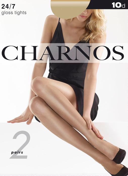 Charnos 24/7 Sheer Gloss Tights 2 Pair Pack