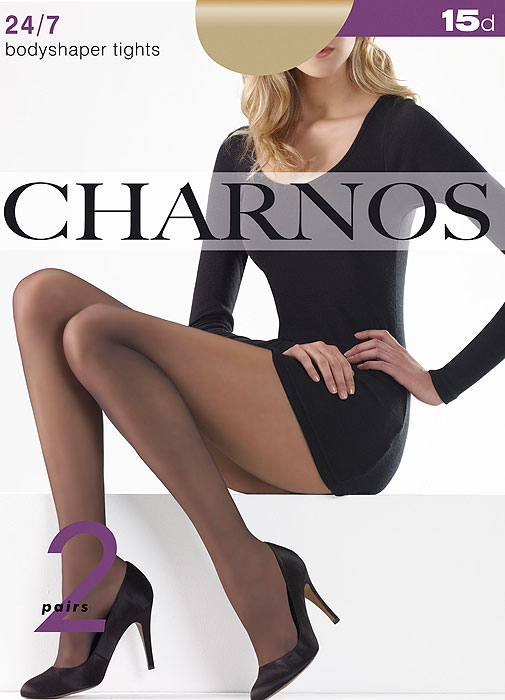 Charnos 24/7 Bodyshaper Tights 2 Pair Pack