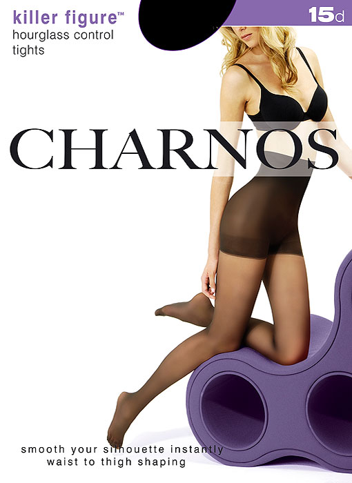 Charnos Killer Figure Hourglass Control Tights