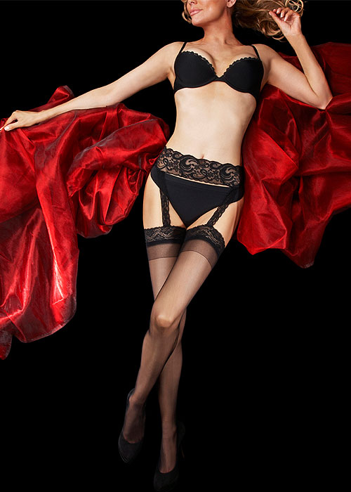 2df8337d0 Charnos Boudoir All In One Suspender Stockings In Stock At UK Tights
