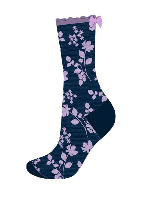 Charnos Bamboo Floral Socks