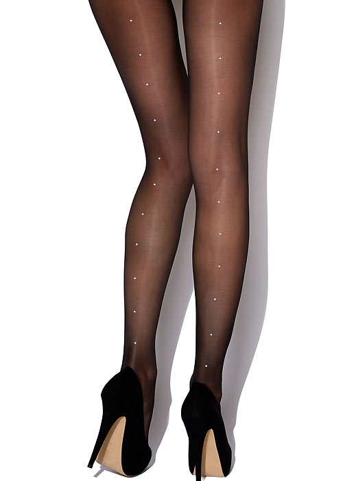Charnos Crystal Backseam Tights
