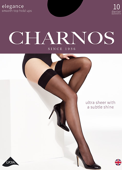 Charnos Elegance Smooth Top Hold Ups