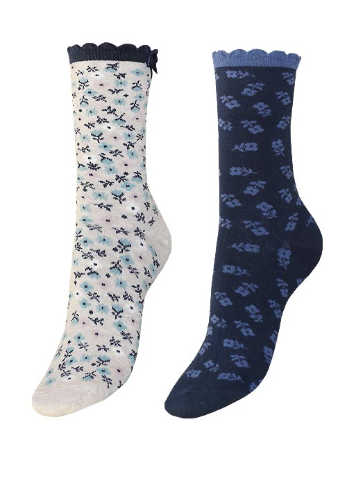 Charnos Floral Sock 2 Pair Pack