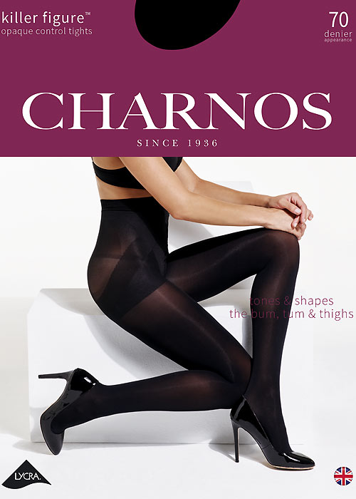 Charnos Killer Figure Opaque Control Tights