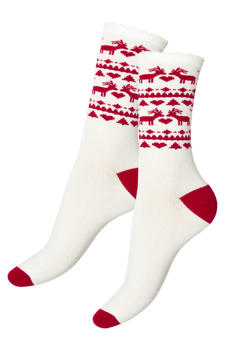 Charnos Reindeer Pattern Socks