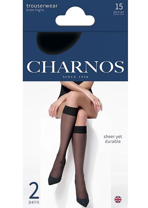 Charnos Sheer Knee Highs 2 Pair Pack