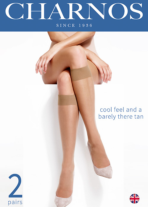 Charnos Simply Bare Knee Highs (2PP)
