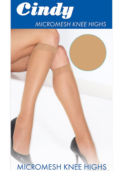 Cindy Micromesh Knee Highs