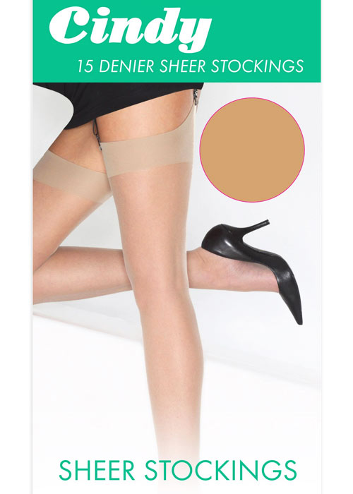Cindy Sheer 15 Denier Stockings