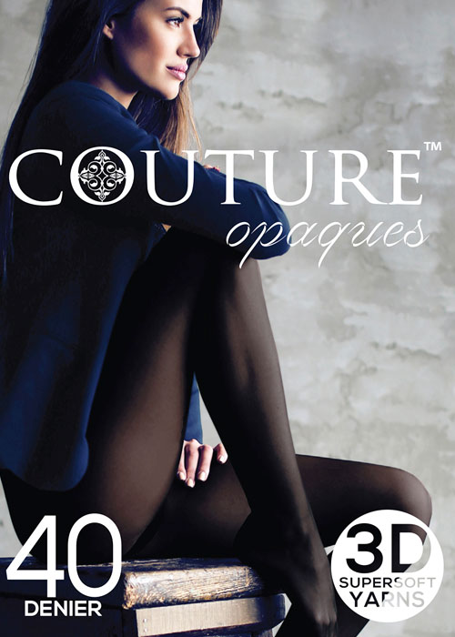 Couture 40 Denier Opaque Tights