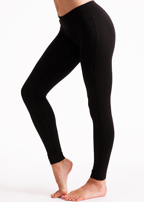 Couture Fashion Velvet Fleece Lined Footless Tights