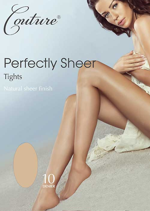 Couture Perfectly Sheer 10 Denier Tights