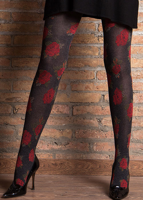Cecilia de Rafael Bouquet Fashion Tights Zoom 4