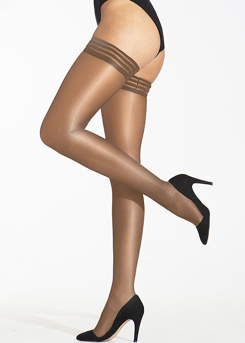 Cecilia de Rafael Eterno 15 High Shine Denier Hold Ups