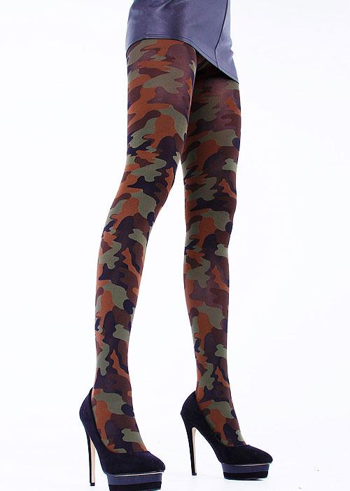 Cecilia de Rafael Camouflage Tights